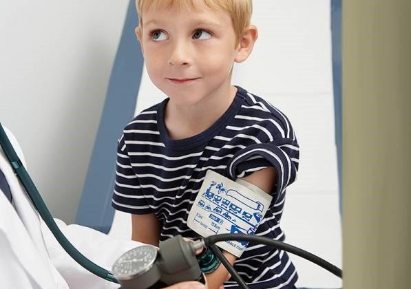 عوارض فشار خون در کودکان