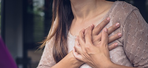 علائم درد قلب در زنان