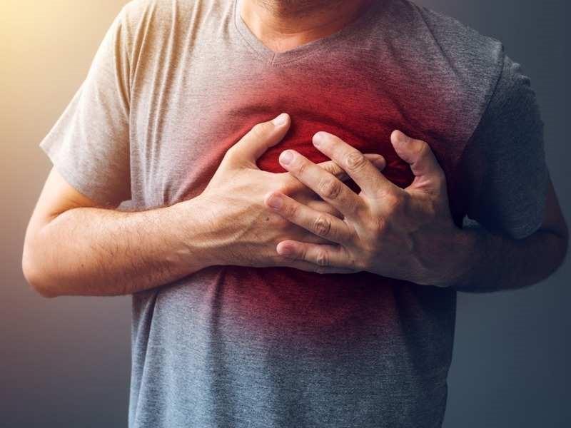 تیر کشیدن قلب